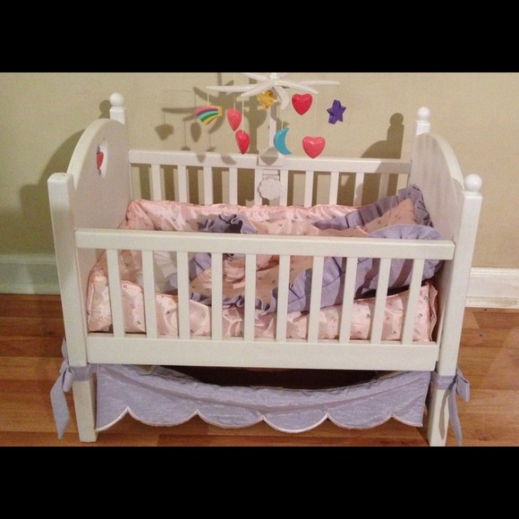 Other - American girl bitty baby crib